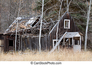 Old Ghost town house.