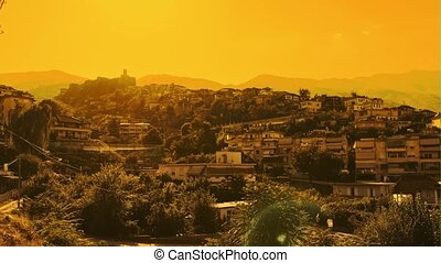 Old Gjirokaster town UNESCO World Heritage in Albania - Old ...