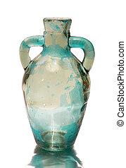 old glass wine bottle