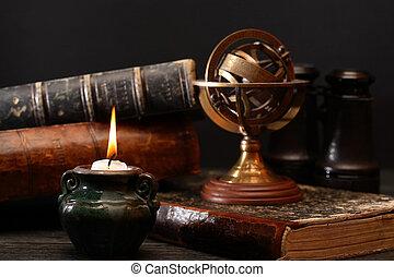 Old Globe And Books