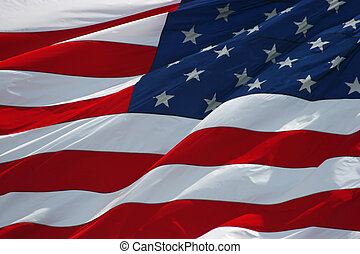 Old glory - American flag background
