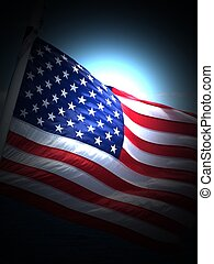 Old Glory - an artistic flag