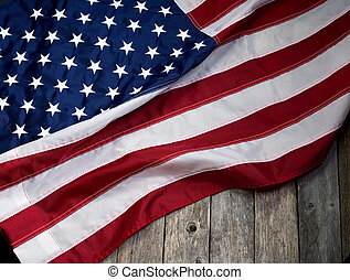 Old Glory Flag. - Old glory flag with room for your type.