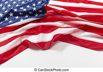 old glory flag - real flag  united states of america