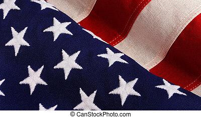 Old Glory - Old glory U.S. flag.