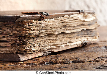 Old gospel book - Gospel book of more than 300 years old...