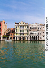 Old Gothic Building in Venice