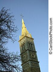 gothic steeple