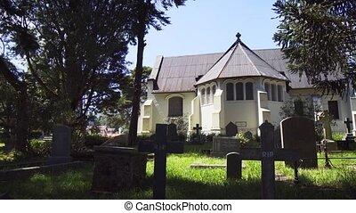Old Graveyard behind Holy Trinity Church in Nuwara Eliya - ...