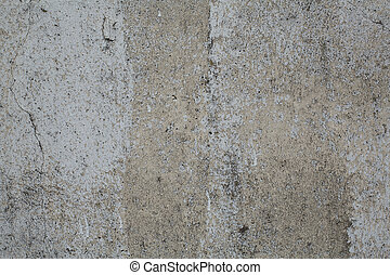 Old gray rough concrete wall texture - Old weathered rough...