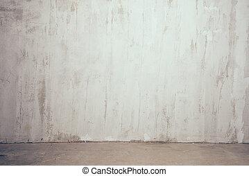 old gray wall