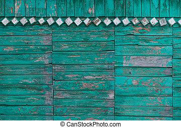 old green board