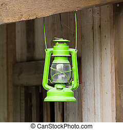 Old green lantern