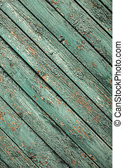 old green wooden fence background