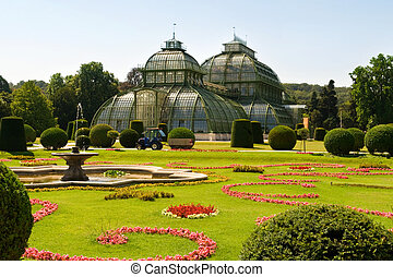 old greenhouse at Vienna