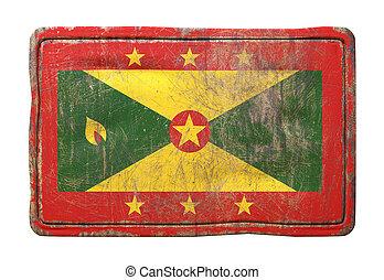 Old Grenada flag