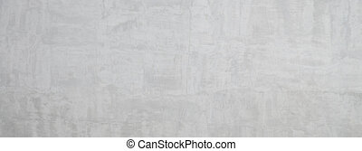 Old grey wall, grunge concrete background with natural cement texture. Panoramic banner background with copy space.