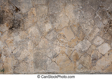 old grey wall retro background texture of the stone