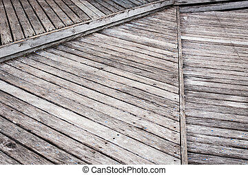 Old grey wood plank background and texture