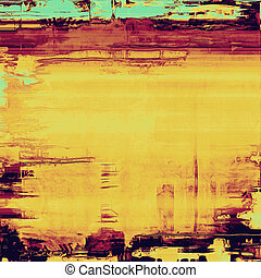 Old, grunge background texture. With different color patterns: brown; purple (violet); blue; yellow (beige)