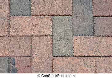 Old Grunge Brick Sidewalk