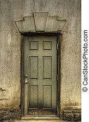 Old Grunge Door