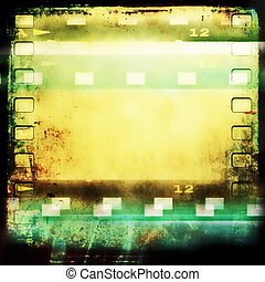 film strip frame background