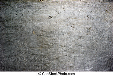 metal plate  - old grunge metal plate steel background