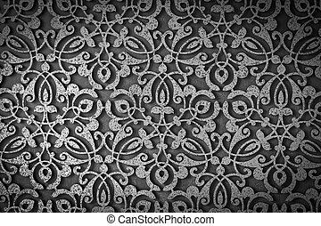 Old grunge metal texture pattern