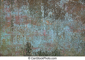 grunge paint rusty metal texture background