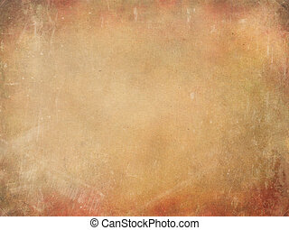 Old Grunge Paper - An old paper texture as grunge background...