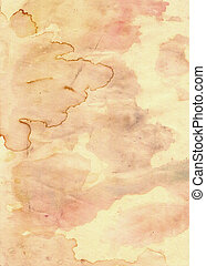 old grunge paper with blobs