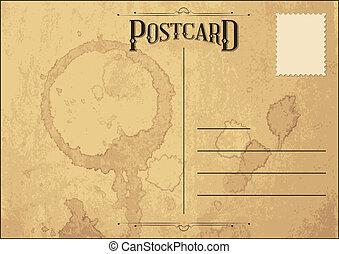 Postcard - Old Grunge Postcard