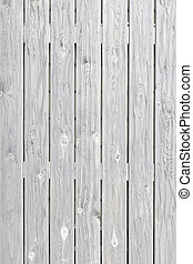 Old grunge white wood texture background with space