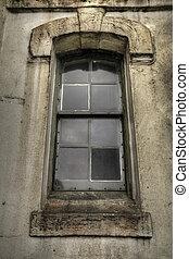 Old Grunge Window