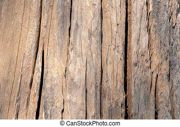old grunge wood crack floor texture background.