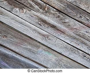 old, grunge wood panels used
