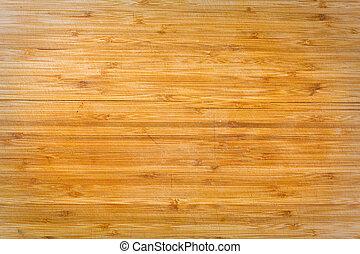 Old grunge wooden cutting kitchen desk board background...