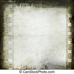 old grungy blank photo paper