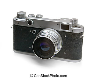 the old russian analog camera for film