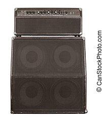 Old guitar amplifier combo