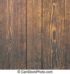Old hardwood grain wall background square format