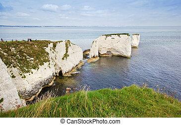 Old Harry Rocks Jurassic Coast UNESCO Dorset England - Old ...