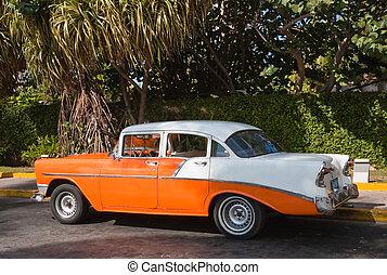 Old Havana vintage car