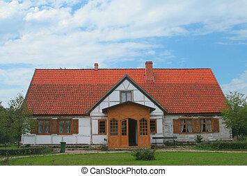 old historic residen