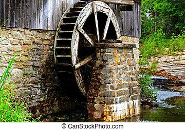 historic sawmill - old historic sawmill on manitulin island