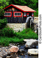 historic sawmill