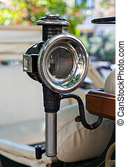 Old Horseless Carriages Headlight
