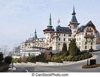 Old hotel, Switzerland