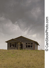 Old House 02 - An old house on the road between Waipawa and ...